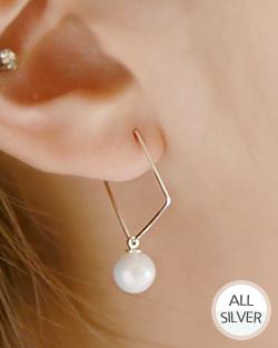 要ヨーヨー真珠はイヤリング(er019)