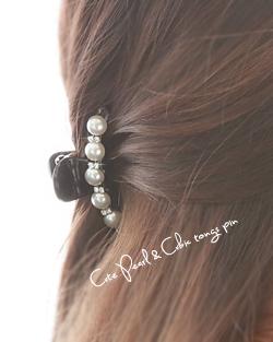貝真珠鉗子ピン(hp409)