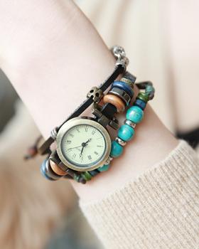 ブレスレットのように時計(br407)