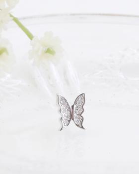蝶の香りピアス(er004)